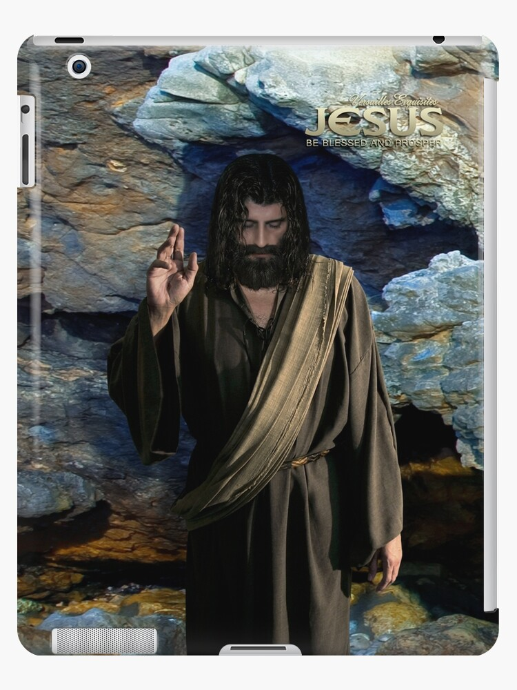 Jesus: Be blessed and prosper (iPad Case) by Angelicus