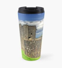 Castles of Wales - Welsh Castle, Caerphilly Castle Travel Mug