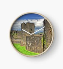 Castles of Wales - Welsh Castle, Caerphilly Castle Clock