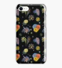 Oil Paint Fireworks iPhone Case/Skin
