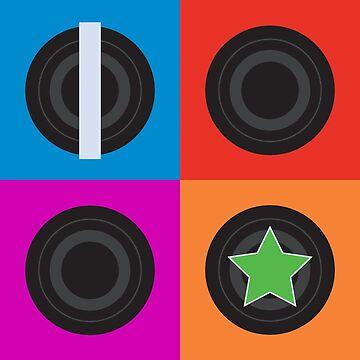 Roller Derby Pivot & Jam by JaZilla