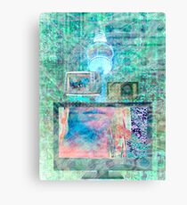 Electronica Canvas Print