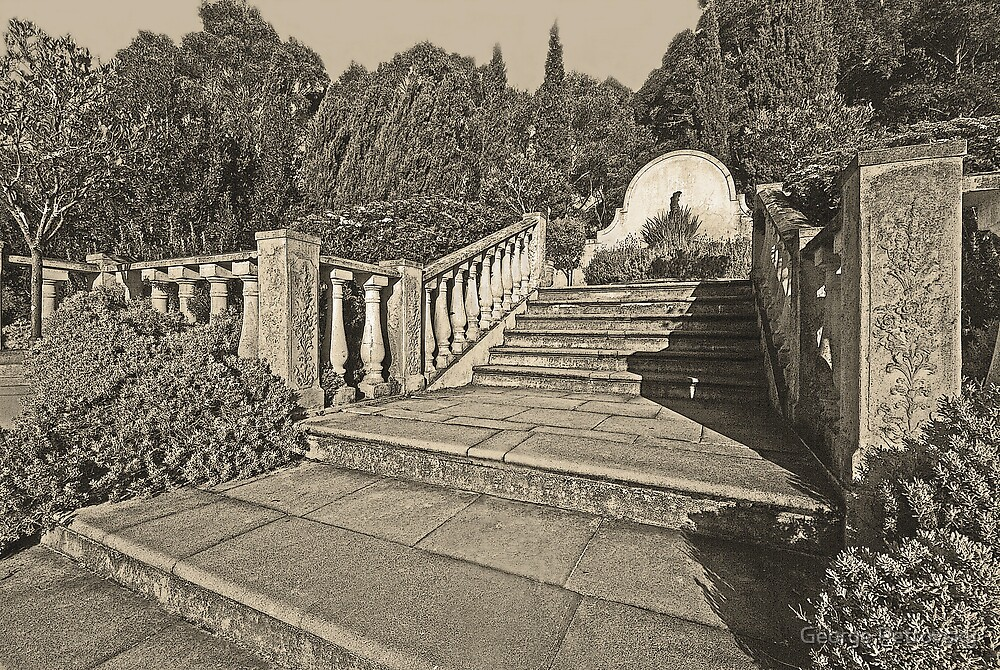Mediterranean Steps # 1 by George Petrovsky