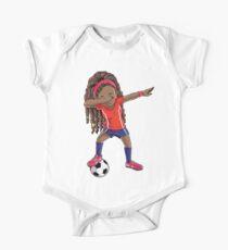 Soccer Dabbing Girl Dab Dance T shirt Funny Football Tee One Piece - Short Sleeve