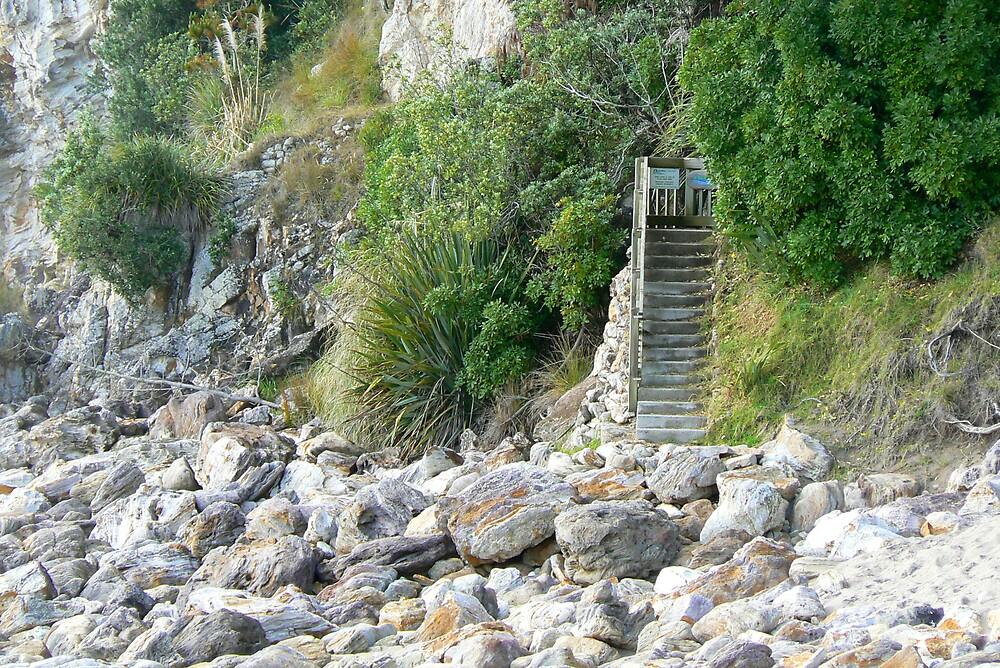 Beach Stairs by mrbean