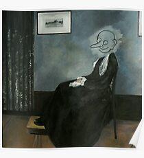 Mr. Bean Whistler's Mother  Poster