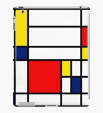 Mondrian Composition iPad Case/Skin