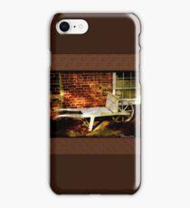 An Old Wheelbarrow, An Ancient House iPhone Case/Skin