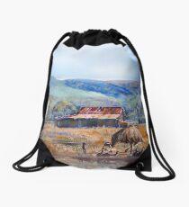 Rural Reflections Drawstring Bag