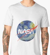 NASA Starry Worm Men's Premium T-Shirt