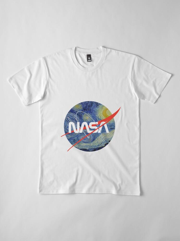 Alternative Ansicht von NASA Sternenwurm Premium T-Shirt