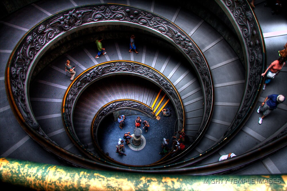 Staircase Divine by MIGHTY TEMPLE IMAGES