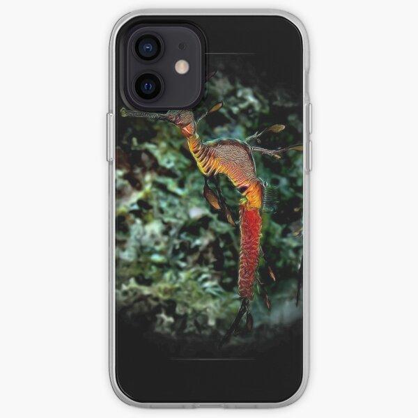 WEEDY SEA DRAGON 'SEAHORSE TRUST' ART iPhone Soft Case