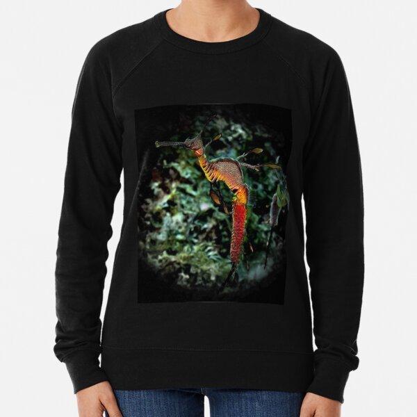 WEEDY SEA DRAGON 'SEAHORSE TRUST' ART Lightweight Sweatshirt