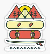 Outdoor Style Sticker