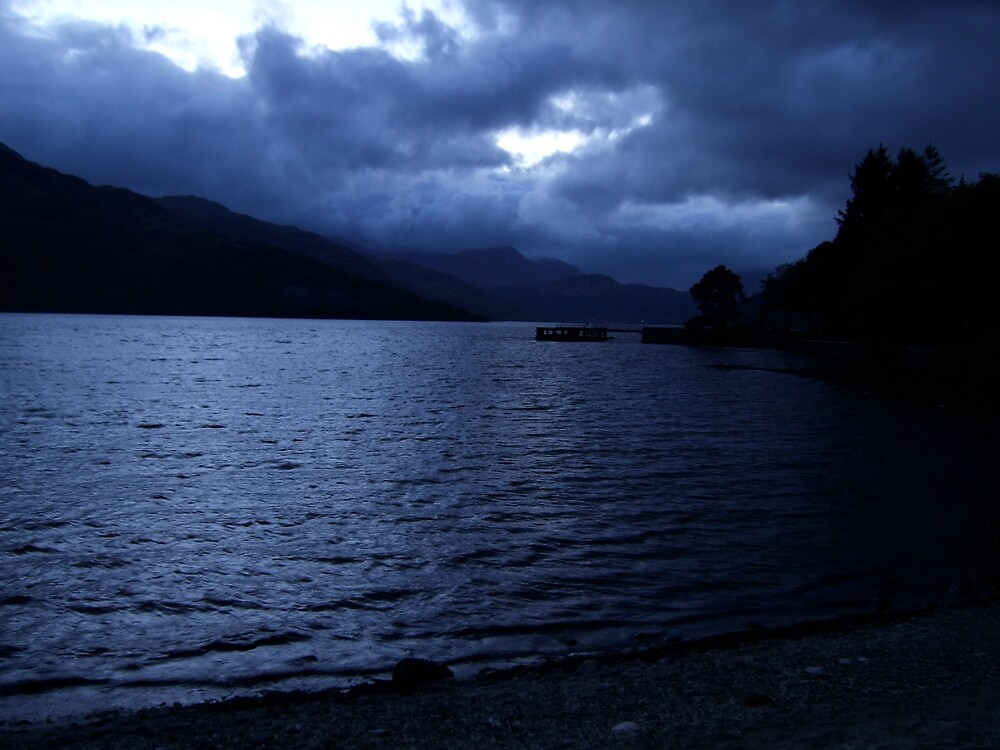 Loch Lomond in Moonlight by benmacdui