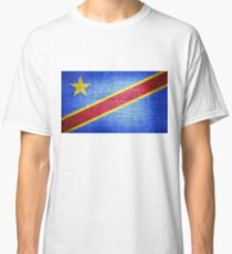 Flag of the Democratic Republic of the Congo Classic T-Shirt