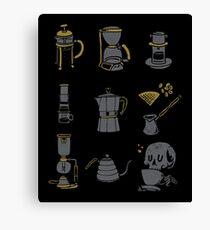 Coffee Equipment Canvas Print