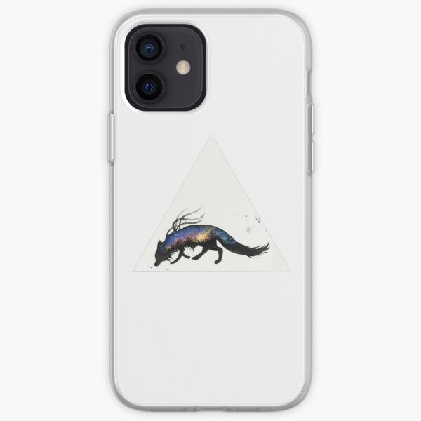 Auroa Australis Fox  iPhone Soft Case