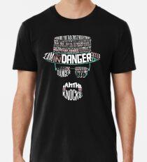 Einer, der klopft Männer Premium T-Shirts