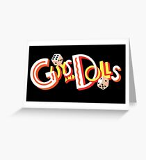 Guys and Dolls Musical Greeting Card