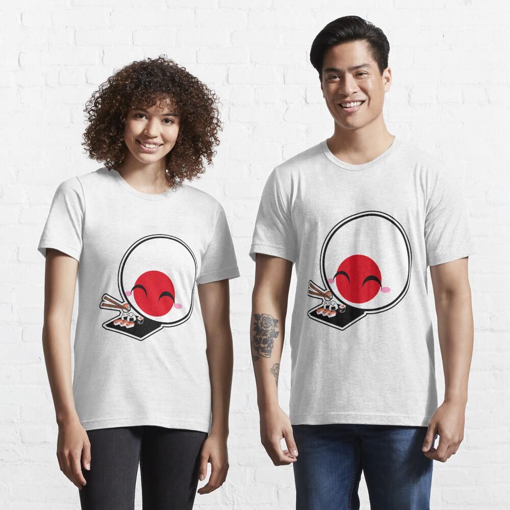 Japanball - Sushi - Polandball Countryball  Essential T-Shirt