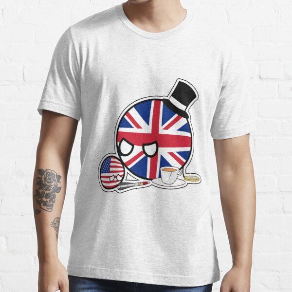 Scolding UKball USAball | Polandball Countryball Essential T-Shirt