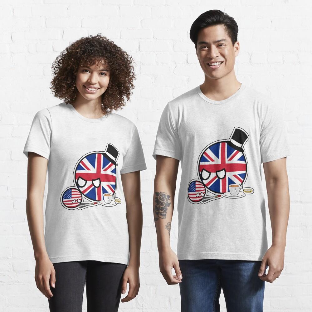 Scolding UKball USAball | Polandball Countryball Essential T-Shirt