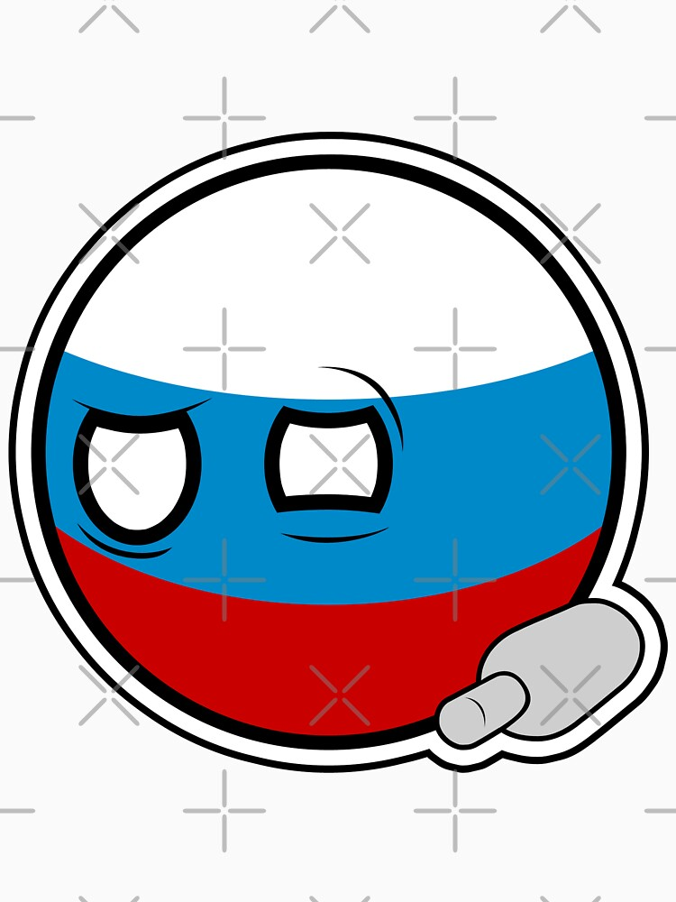 Russiaball with empty bottle | Polandball Countryball by poland-ball