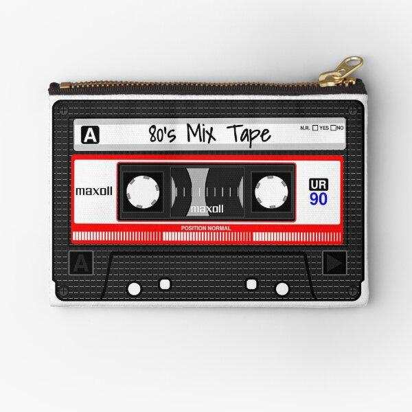 80's Mix Tape Zipper Pouch