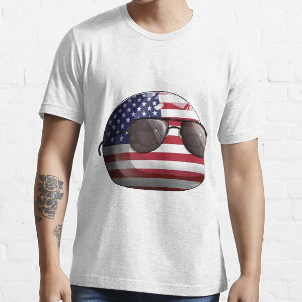 Americaball, Muricaball, USAball Polandball Countryball Essential T-Shirt