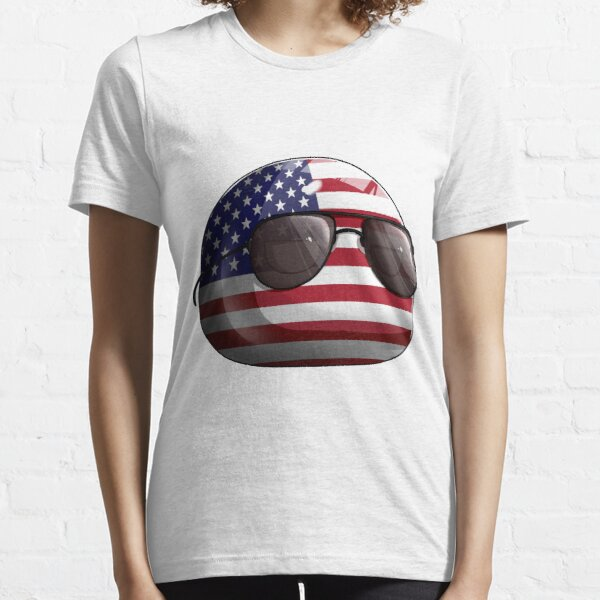 Americaball, Muricaball, USAball Polandball Countryball Essential T-Shirt