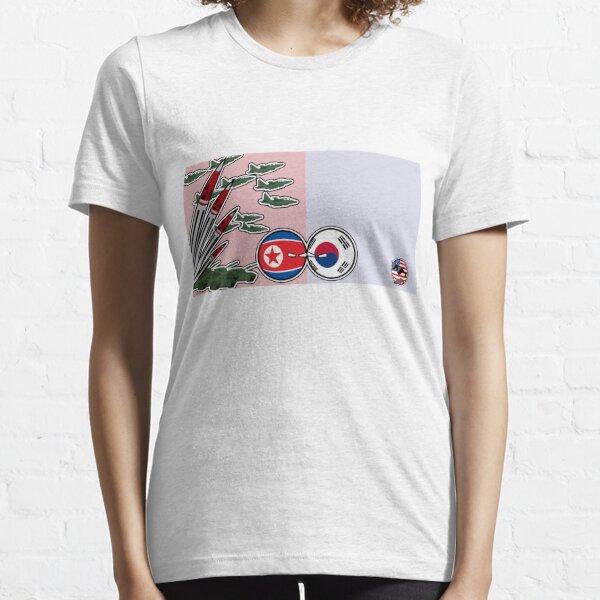 DPKR Koreaball conflict with USAball | Polandball Countryball Essential T-Shirt