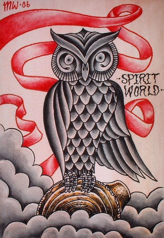 spirit world by MattWolf