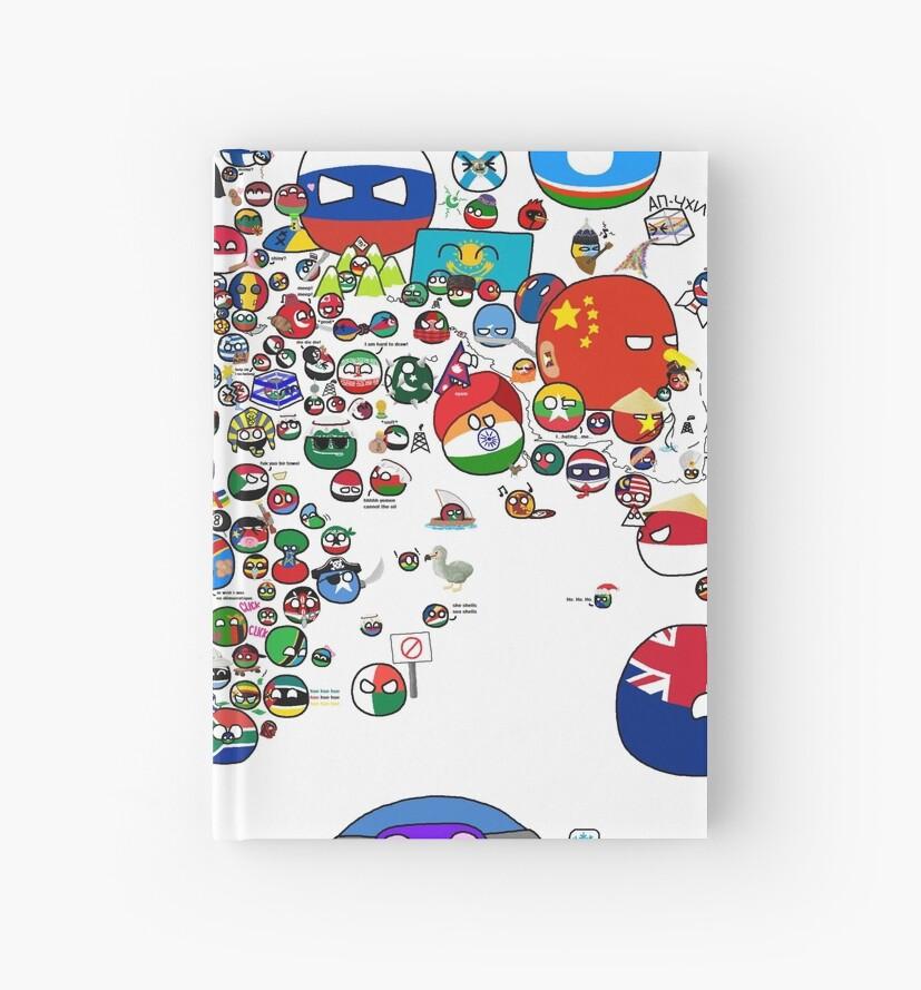 Polandball countryball world map hardcover journals by poland ball polandball countryball world map by poland ball gumiabroncs Choice Image