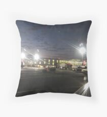 John F. Kenned Airport Throw Pillow