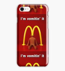 McDonald's Ima vomiting it merch iPhone Case/Skin