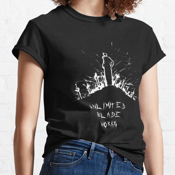 EMIYA - Unlimited Blade Works Graffitti Style Classic T-Shirt