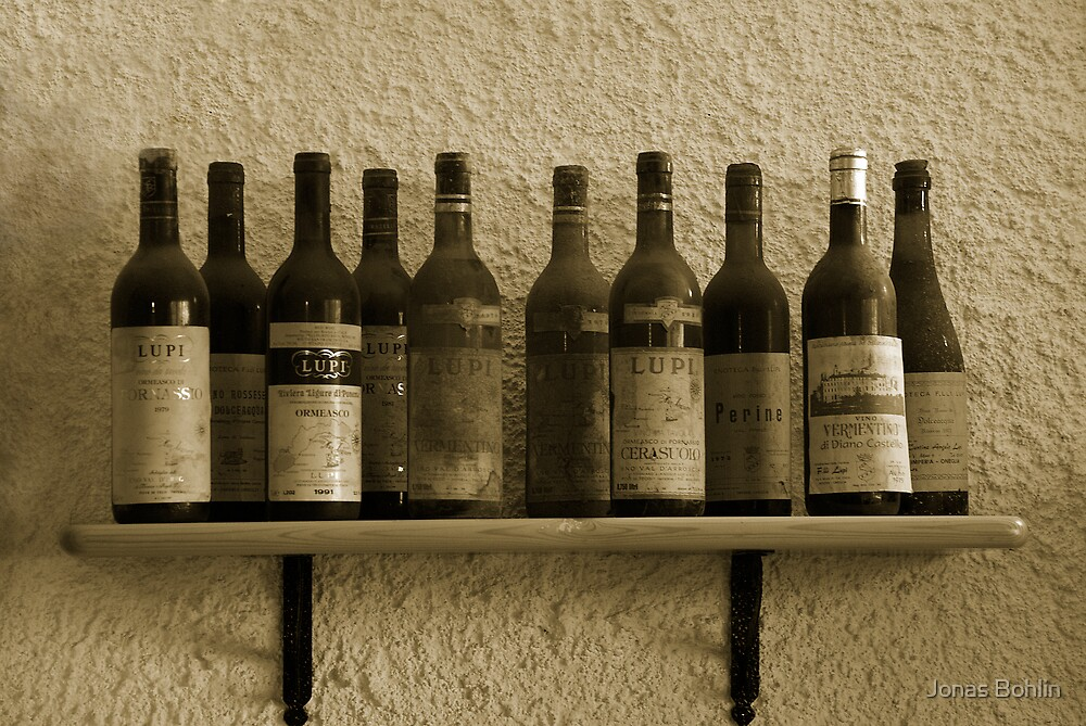 Wine in the past by Jonas Bohlin