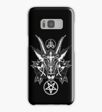 Baphoment and Satanic Symbols Samsung Galaxy Case/Skin