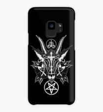 Baphoment and Satanic Symbols - Art By Kev G Case/Skin for Samsung Galaxy