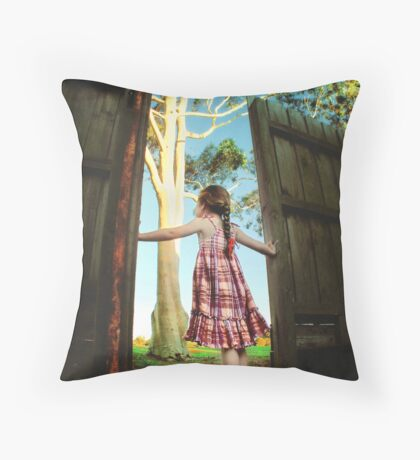 Escape... Throw Pillow