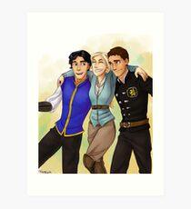 got trio Art Print