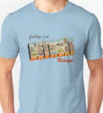 Greetings from Detroit, Michigan 1 T-Shirt
