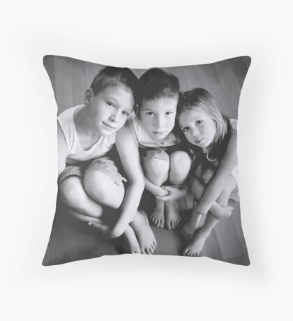 My Babies 2007 Throw Pillow