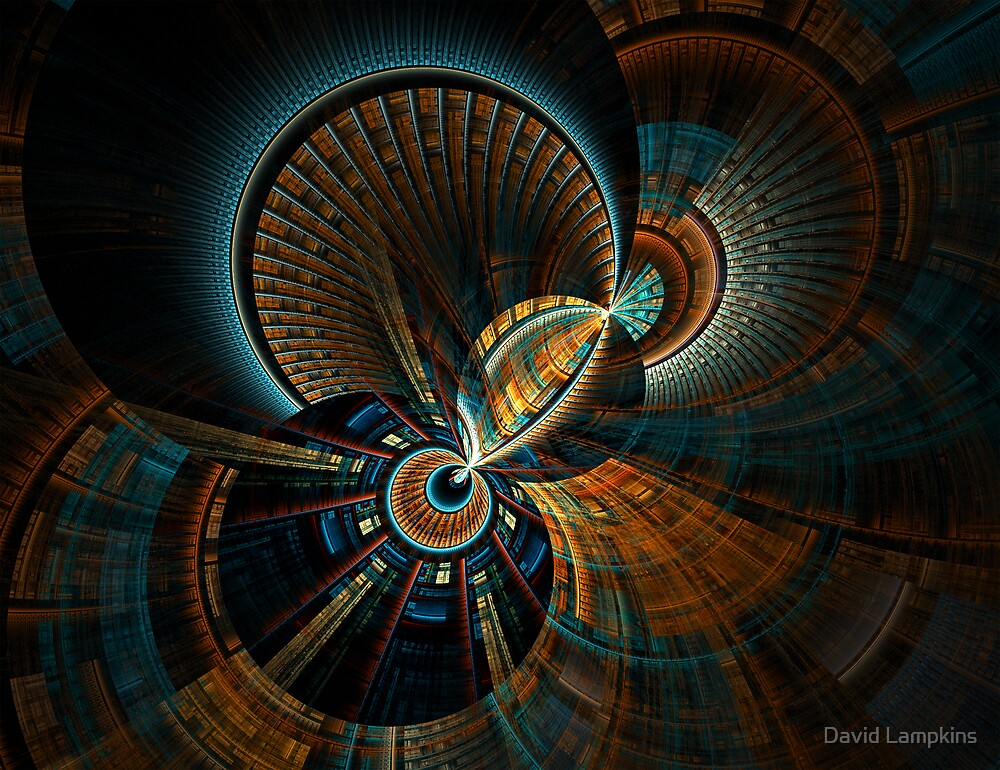 Fractal Frenzy by David Lampkins