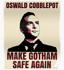 Make Gotham Safe Again Poster