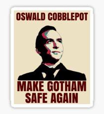 Make Gotham Safe Again Sticker