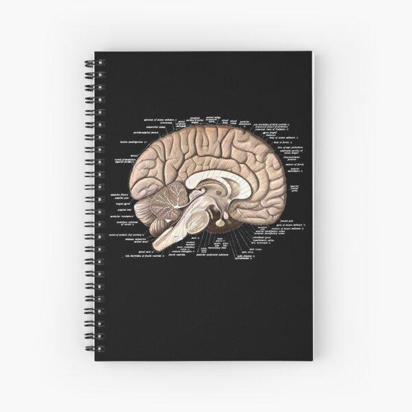Brain Anatomy Spiral Notebook