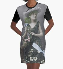 Florence Dysart Graphic T-Shirt Dress